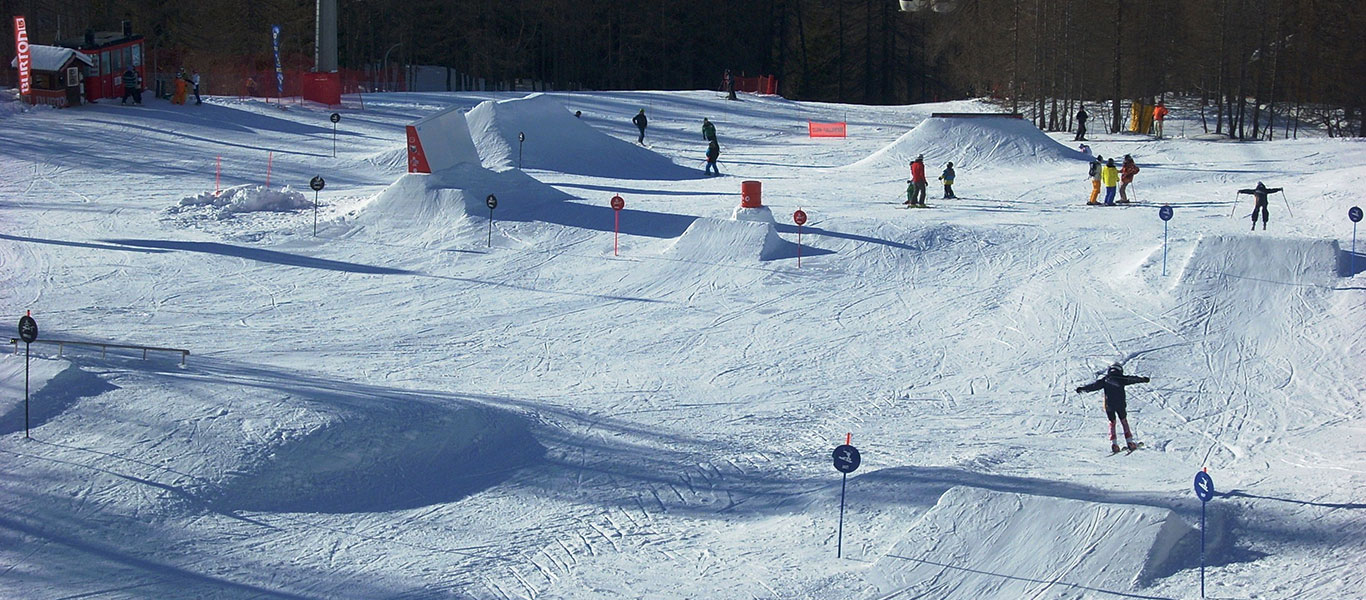 Freeride and Freestyle courses